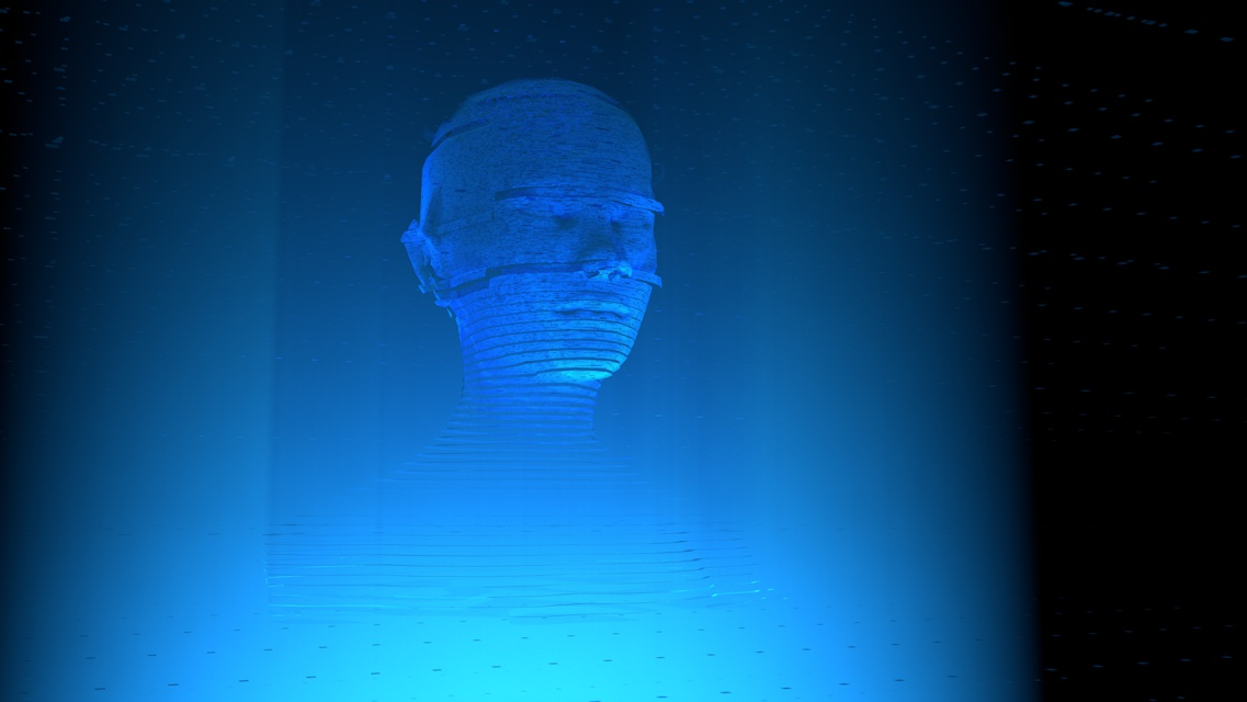 Holography 3D Animation Experiments